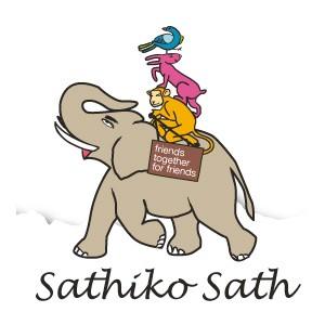 Logo Sathiko Sath in Nepal