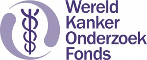 Wereld Kanker Onderzoek Fonds logo 1