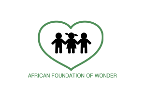 African Foundation of Wonder (Stichting) logo 1