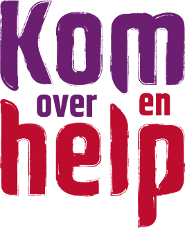 Logo Kom over en help