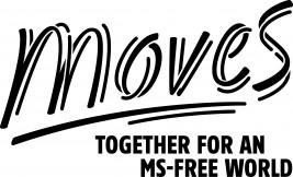 Logo MoveS voor een MS-vrije wereld