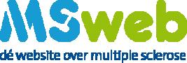 MSweb, dé website over multiple sclerose logo 2