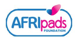 Logo Stichting AFRIpads Foundation