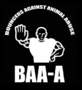 Logo Bouncers Against Animal Abuse