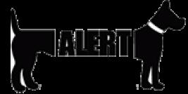 Logo Stichting Alert hondenopvang en herplaatsing