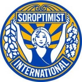 Logo Soroptimistclub Arnhem-Oost voor AFRIpads