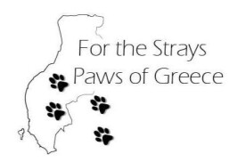 Logo Stichting For the Strays - Paws of Greece