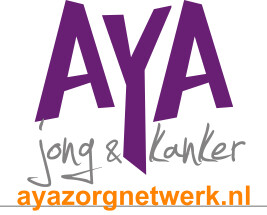 Logo Nationaal AYA 'Jong & Kanker' Zorgnetwerk