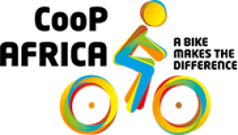 Logo CooP-Africa, Cycling out of Poverty