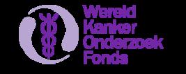 Logo Wereld Kanker Onderzoek Fonds