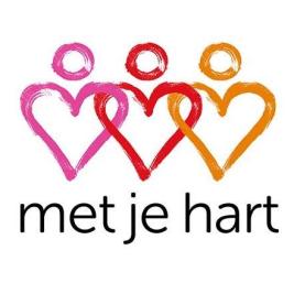 Stichting Met je hart logo 2