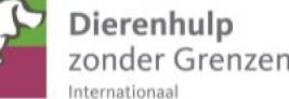 Logo Dierenhulp zonder Grenzen Internationaal