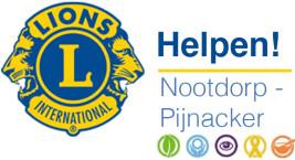 Logo Stichting Community Service Lions Club Nootdorp-Pijnacker