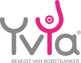Logo Stichting YvYa, bewust van borstkanker