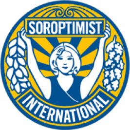 Logo Soroptimist Club Leiden voor 100xTrees4life