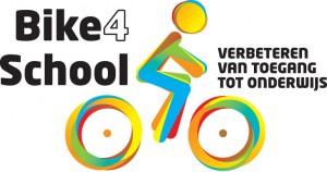 Logo Bike4School: betere toegang tot onderwijs