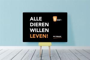 Logo Demonstratie: Animal Rights March Amsterdam