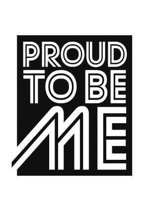 Logo Proud to be me