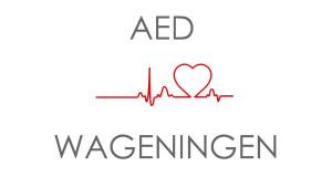 Logo AED Rondje Pootakkerweg Wageningen