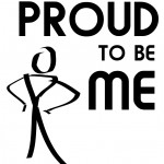 Logo Proud to be me