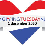 Logo GivingTuesday 2020 - #GivingTuesdayNL